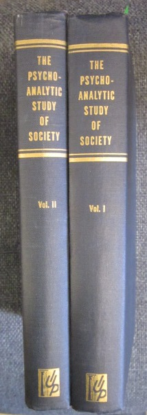 Image for The Psychoanalytic Study of Society. Vol. I and II.