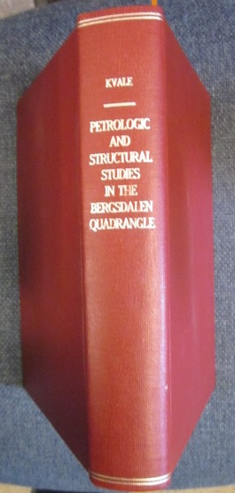 Image for Petrologic and Structural studies in the Bergsdalen Quadrangle {Signed]
