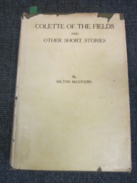 Image for Colette of the Fields and other short stories, and poems.