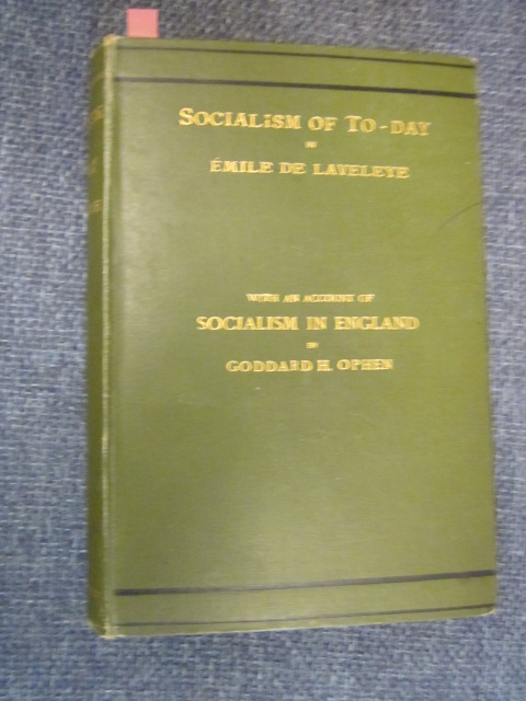 Image for The Socialism of To-day