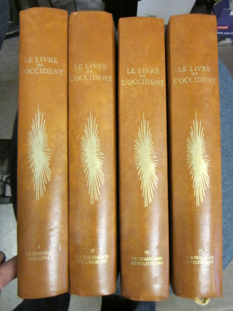 Image for Le Livre de l'Occident. (4 volumes)