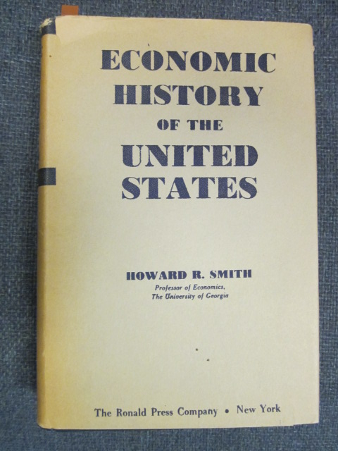 Image for Economic History of the United States
