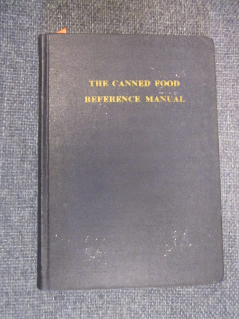 Image for The Canned Food Reference Manual