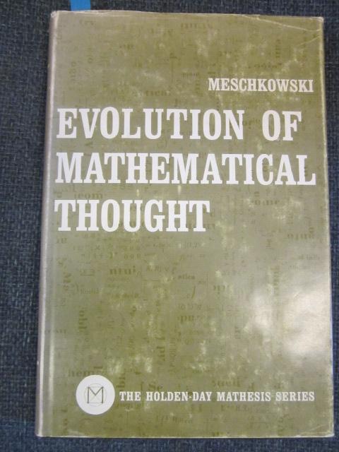 Image for Evolution of Mathematical Thought