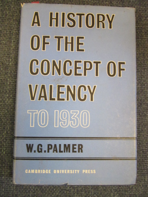 Image for A History of the Concept of Valency to 1930
