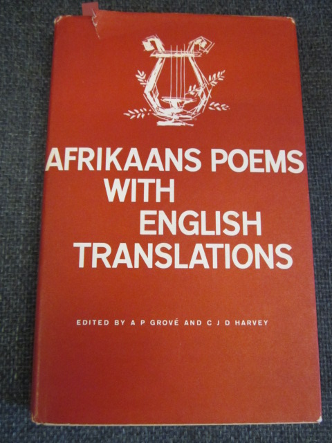 Image for Afrikaans Poems with English Translations