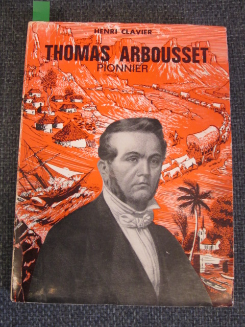 Image for Thomas Arbousset Pionnier
