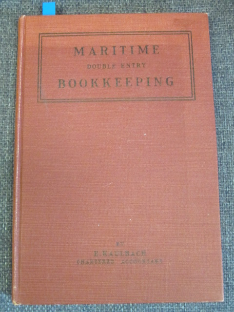 Image for Maritime Double Entry Bookkeeping