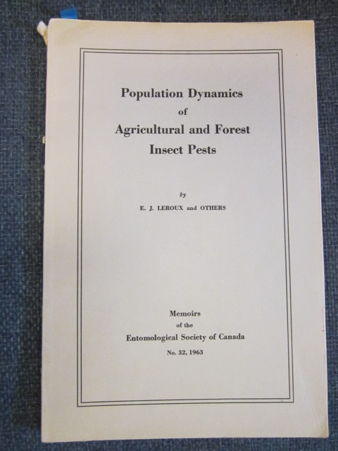 Image for Population Dynamics of Agricultural and Forest Insect Pests