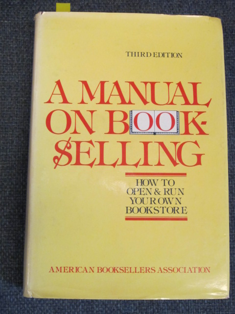 Image for A Manual on Bookselling