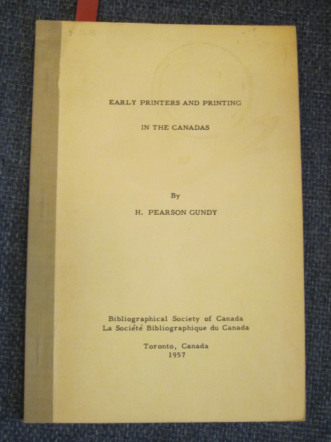 Image for Early Printers and Printing in the Canadas