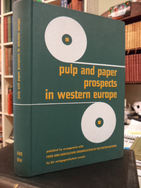 Image for Pulp and Paper Prospects in Western Europe.  A Study by FAO Secretariat