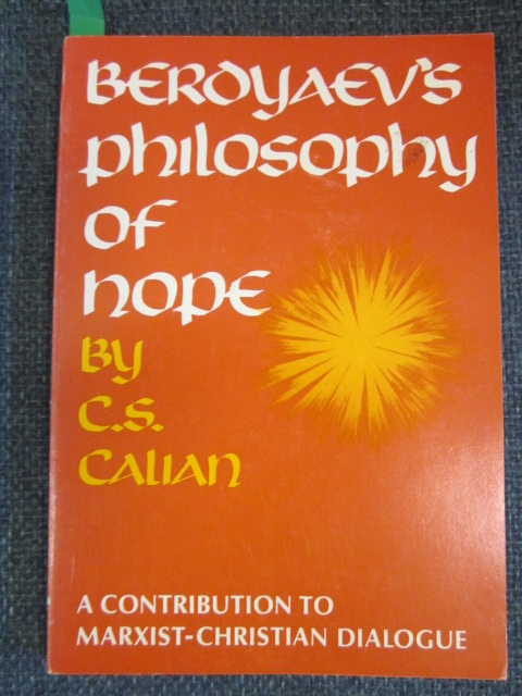 Image for Berdyaev's Philisophy of Hope -  a Contribution to Marxist-Christian Dialogue