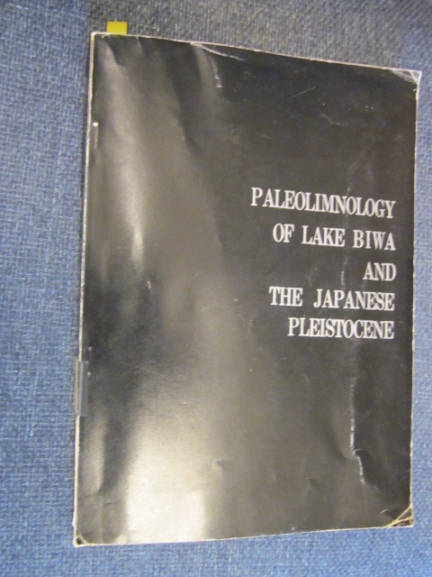 Image for Paleolimnology of Lake Biwa and the Japanese Pleistocene (Second Issue)