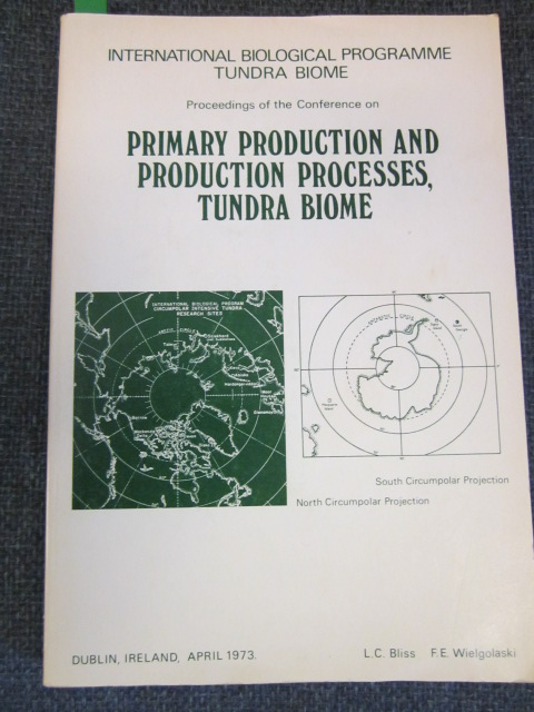 Image for International Biological Programme, Tundra Biome - Primary Production and Production Processes, Tundra Biome