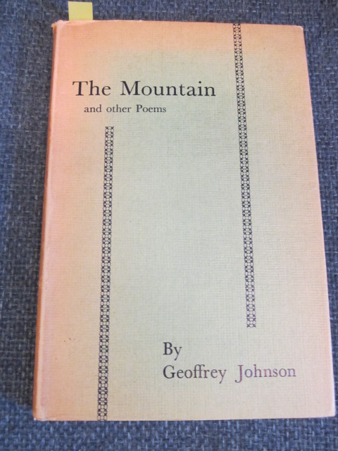 Image for The Mountain and Other Poems [Signed]