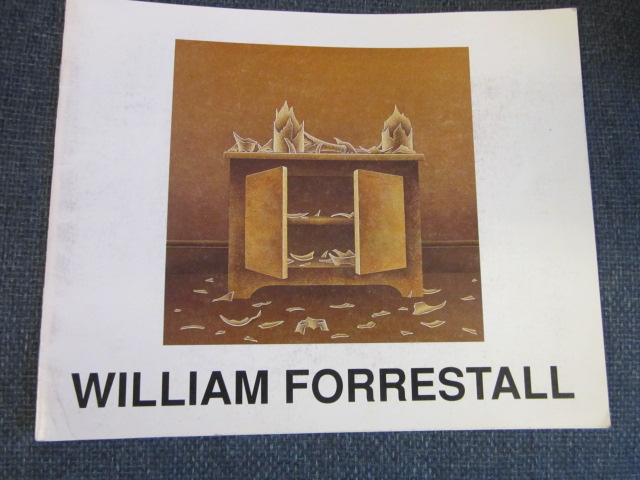 Image for William Forrestall - Still Life Works Sept 11 - Sept 30 1992