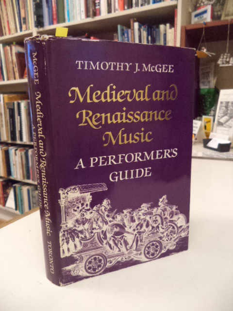 Image for Medieval and Renaissance Music: A Performer's Guide