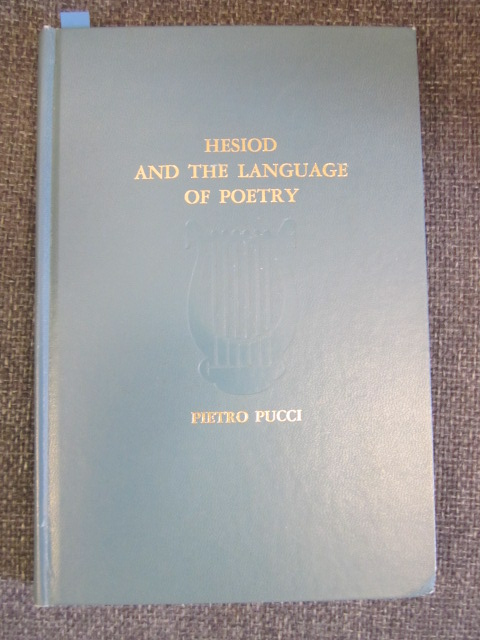 Image for Hesiod and the Language of Poetry
