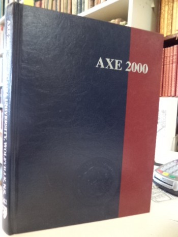 Image for The Axe. 2000. Acadia University Yearbook