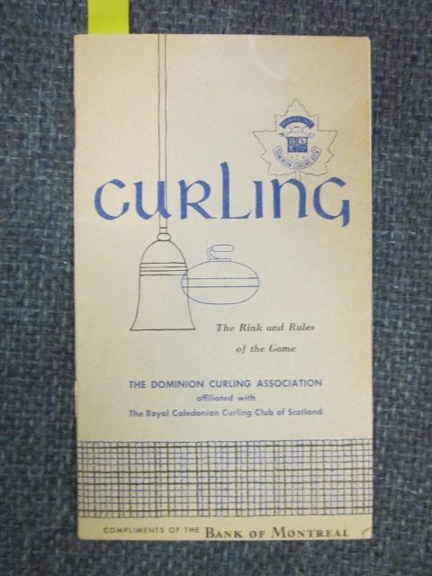 Image for Curling.  The Rink and Rules of the Game