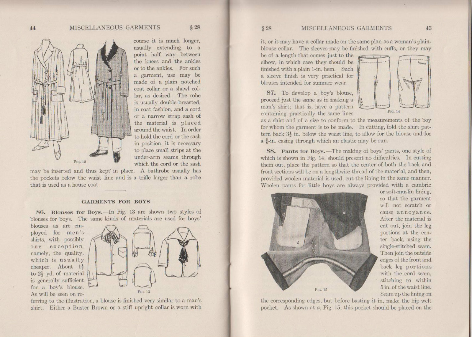 Image for Miscellaneous Garments