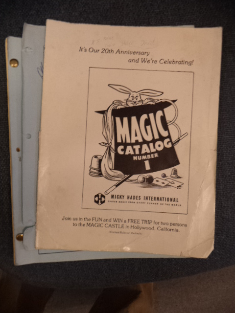 Image for Magic Catalog Number 1