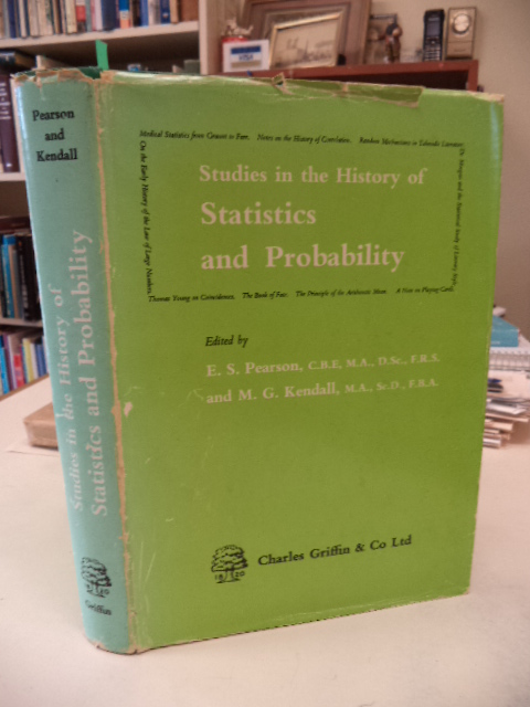 Image for Studies in the History of Statistics and Probability