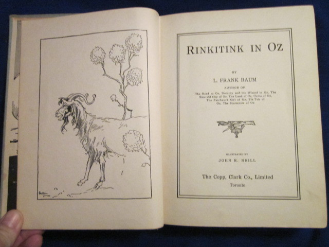 Image for RINKITINK IN OZ