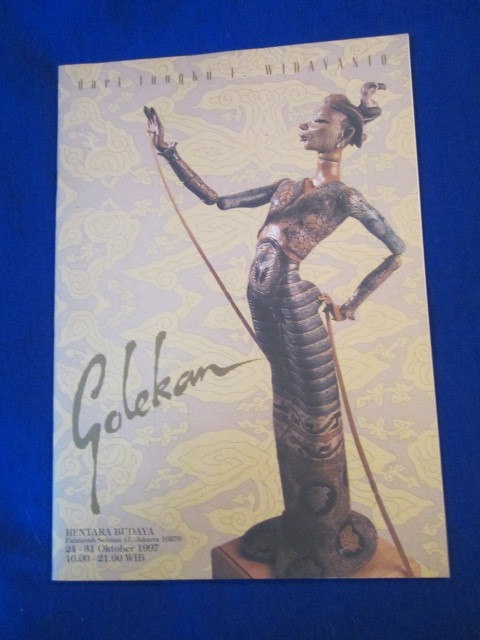 Image for Golekan. Exhibition catalogue of Fransiskus Widayanto at Bentara Budaya 24-31 Oktober, 1997