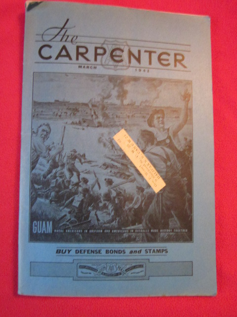 Image for United Brotherhood of Carpenters : THE CARPENTER : 34 issues, 1929-1951