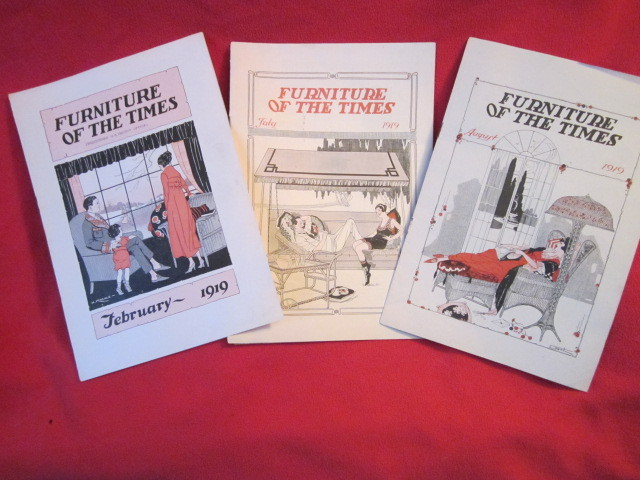 Image for Ten issues of Furniture of the Times. Earliest is July, 1918 and the latest August, 1919.