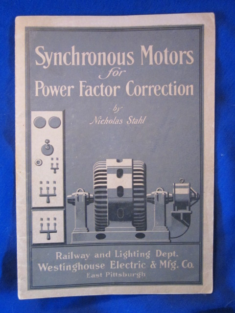 Image for Synchronous Motors for Power Factor Correction