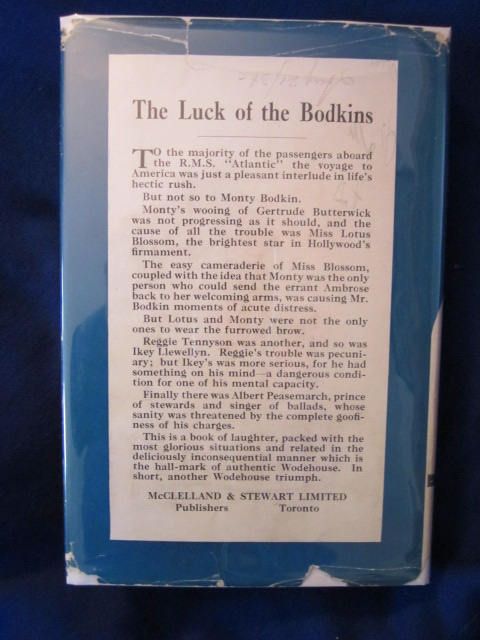 Image for The Luck of the Bodkins