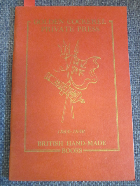 Image for Golden Cockerel Private Press  1955-1956  British Hand-Made Books