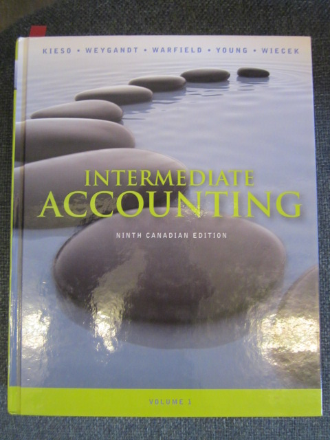 Image for Intermediate Accounting Volume 1. Ninth Canadian Edition