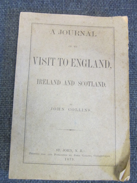 Image for A Journal Of My Visit To England, Ireland and Scotland