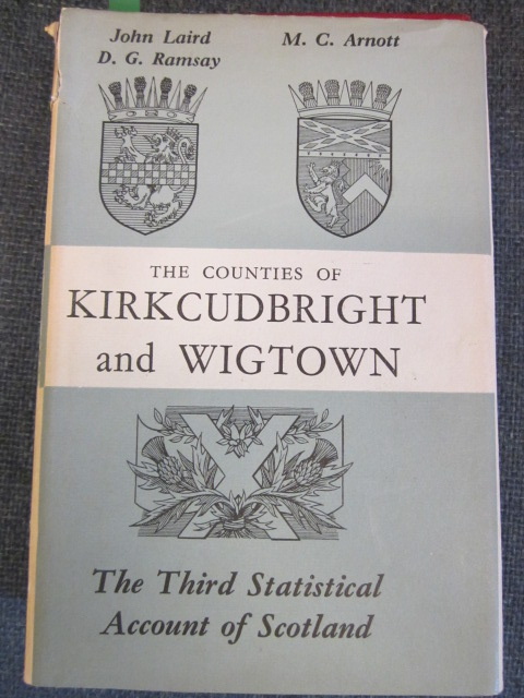 Image for The Third Statistical Account of Scotland Vol. XIV.  The Stewartry of Kirkcudbright and The County of Wigtown