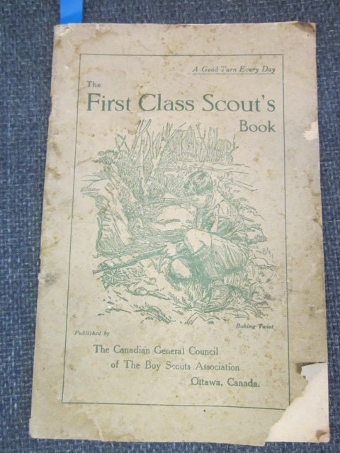 Image for The First Class Scout's Book