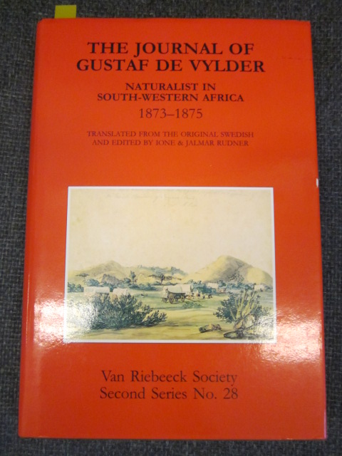 Image for The Journal of Gustaf De Vylder: Naturalist in South-Western Africa, 1873-1875