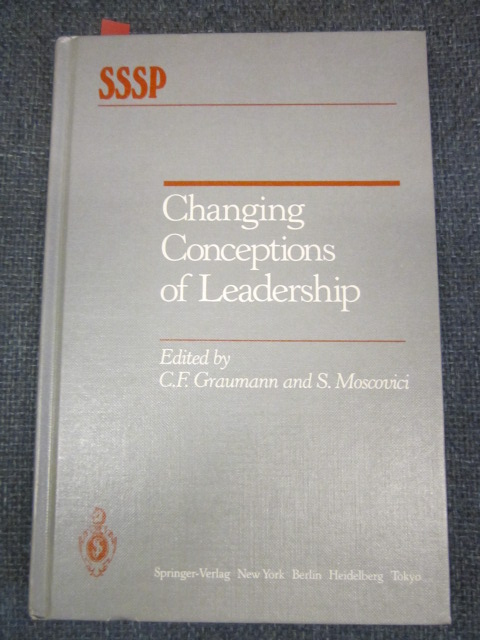 Image for Changing Conceptions of Leadership