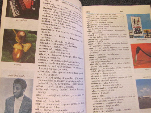 Image for Learner's English - Kiswahili DICTIONARY