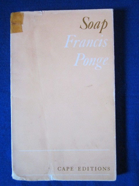 Image for Soap [Cape Editions]