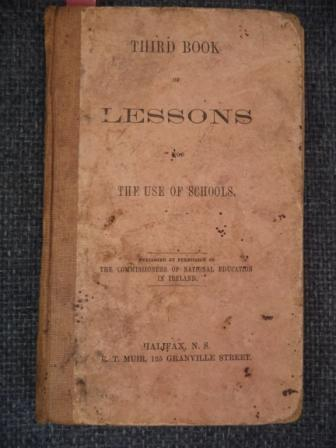 Image for Third Book of Lessons for The Use of Schools. [Halifax imprint]
