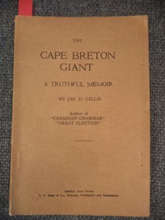 Image for The Cape Breton Giant: A Truthful Memoir