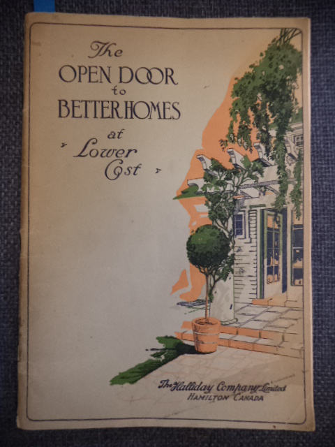 Image for The Open Door to Better Homes at Lower Cost.  Catalogue No. 64  Containing over 50 Designs of Attractive Homes