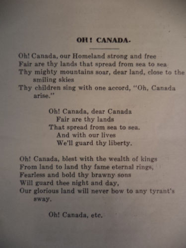 Image for National Anthems of The Allies and Patriotic Songs Sung at Concerts in Aid of Canadian Patriotic War Fund