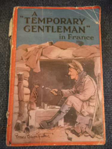 "Image for A ""Temporary Gentleman"" in France. Home Letters from an Army Officer"