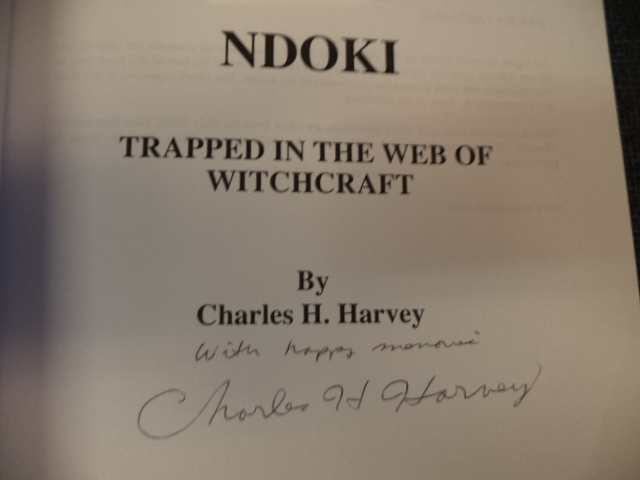 Image for Ndoki.  Trapped in the Web of Witchcraft
