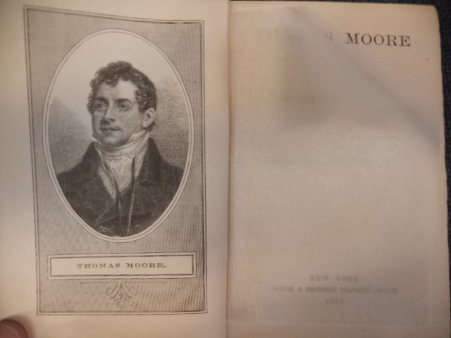 Image for Thomas Moore The Poet, His Life and Works